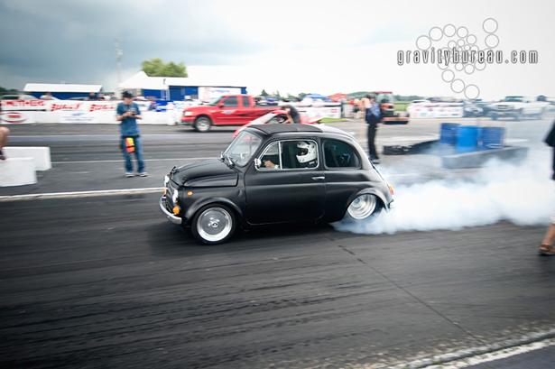 Fiat 500 Drag Racer
