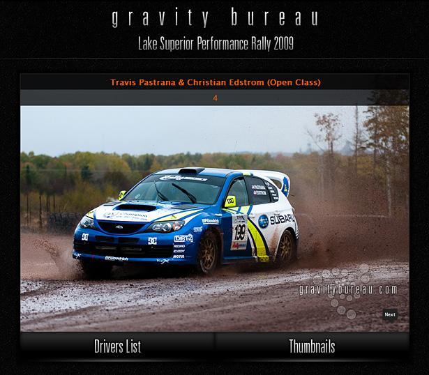 Travis Pastrana & Christian Edstrom in Gravity Bureau's LSPR'09 Interactive Driver's Gallery