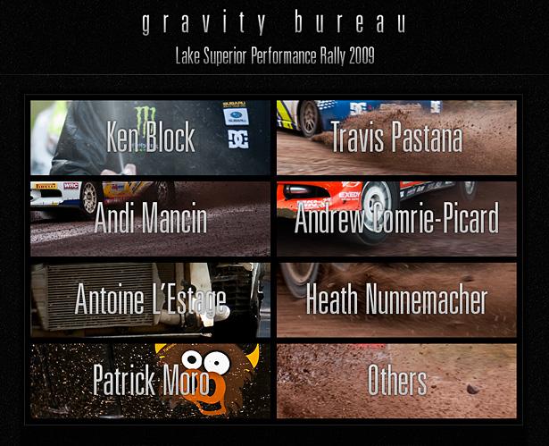 LSPR'09 Interactive Driver's Gallery by GravityBureau.com