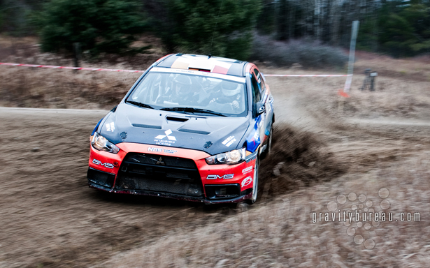 Wallpaper of ACP's EVO X sideways at the Iron Bridge stage.