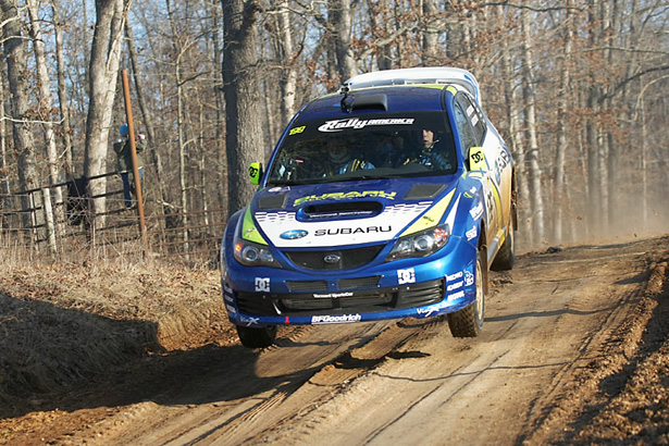Travis jumping his Impreza - ©Arthur Partyka