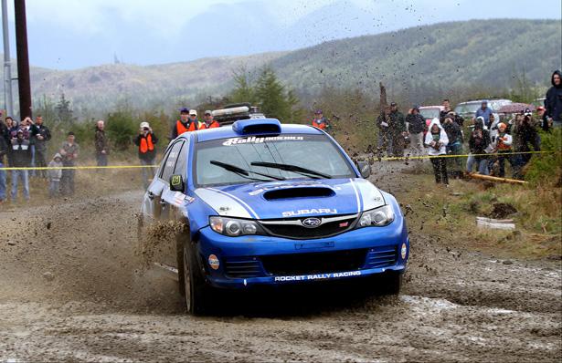 Pat Richard & Subaru Rally Team Canada STI - ©Neil McDaid