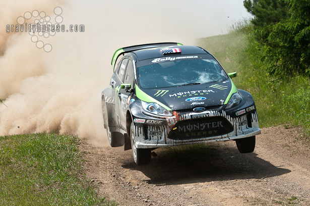 Ken Block & Alex Gelsomino, Monster World Rally Team