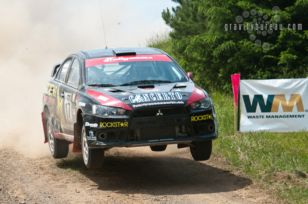 Waste Management Special Stage - Antoine L'Estage & Nathalie Richard, Rockstar Energy Rally Team