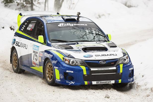 David Higgins & Craig Drew who DNF'ed in a 2011 Subaru Impreza WRX STI - ©Arthur Partyka