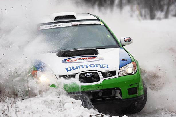 Richard Burton & Maxime Vadeboncoeur - 2007 Subaru STI - ©Arthur Partyka