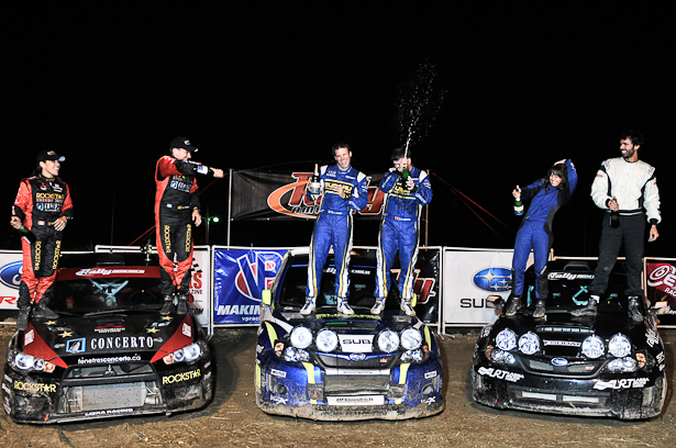 STPR 2011 winners: Higgins, L'Estage and Lagemann - ©Peter Calak, Gravity Bureau Inc.