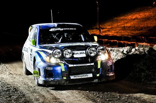 David Higgins & Craig Drew, 2011 Subaru Impreza WRX STI - ©Peter Calak, Gravity Bureau Inc.